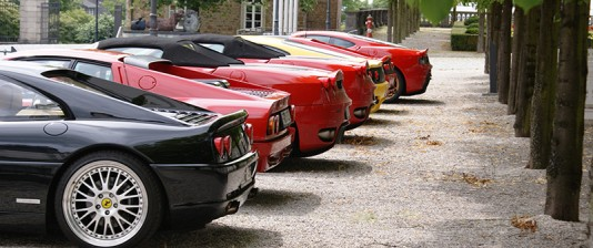 Ferrari Event Schloss Bensberg