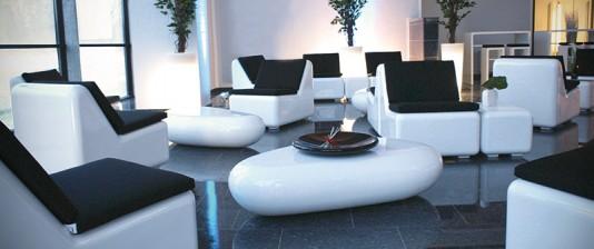 Mietmöbel im Loungestyle