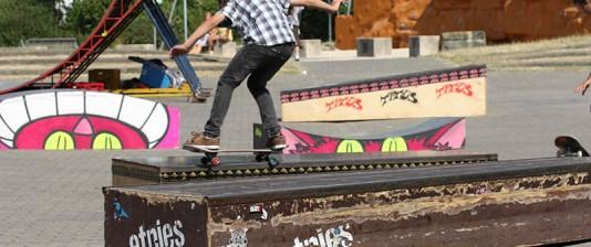 Skateboard-Schule
