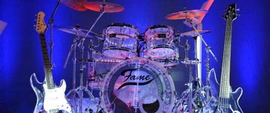 Plexiglas Schlagzeug