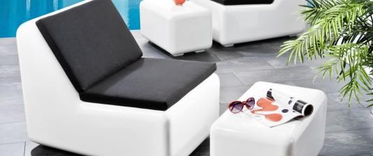 Möbel aus Fiberglas
