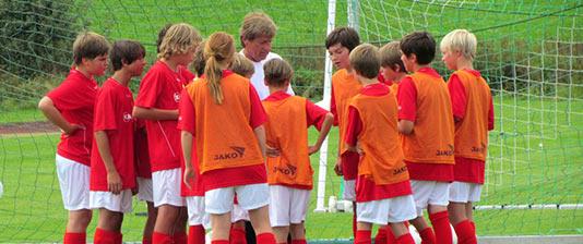 Fußballschule buchen