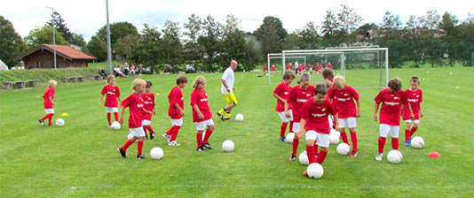 Fußballschule Training